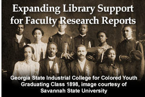 Expanding Library Support for Faculty Research Reports